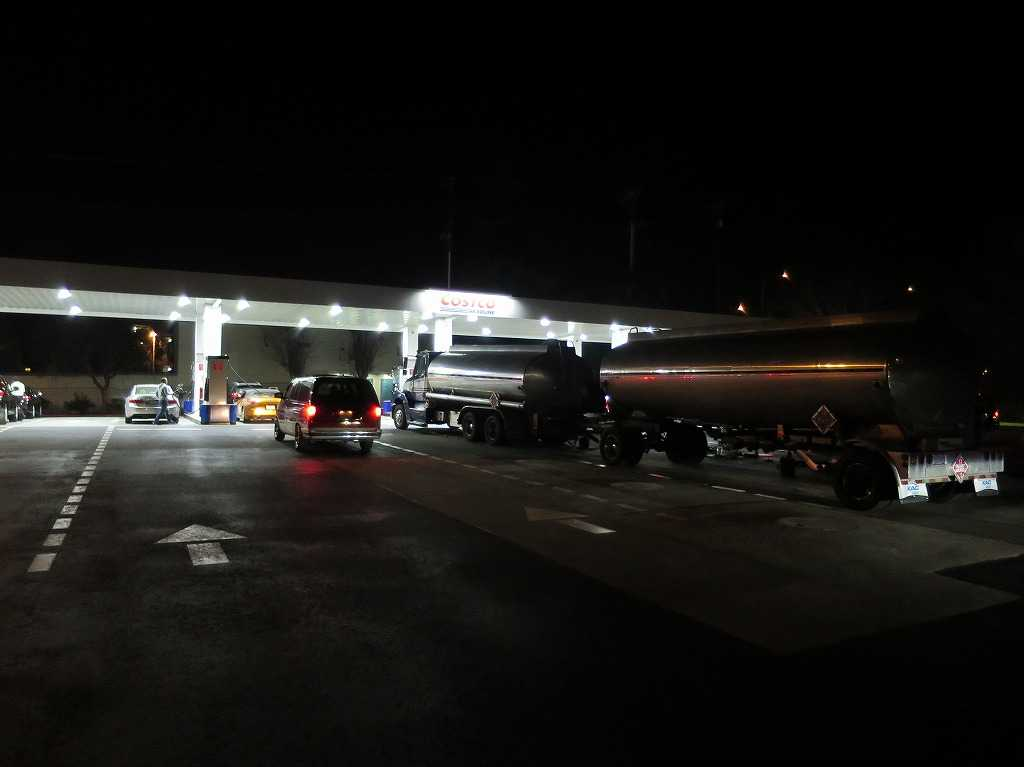コストコ・ガソリンステーション(Costco gasoline station)