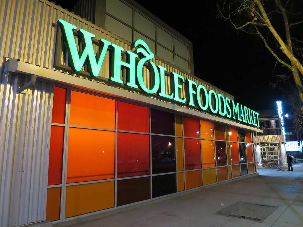 Whole Foods Marketの看板