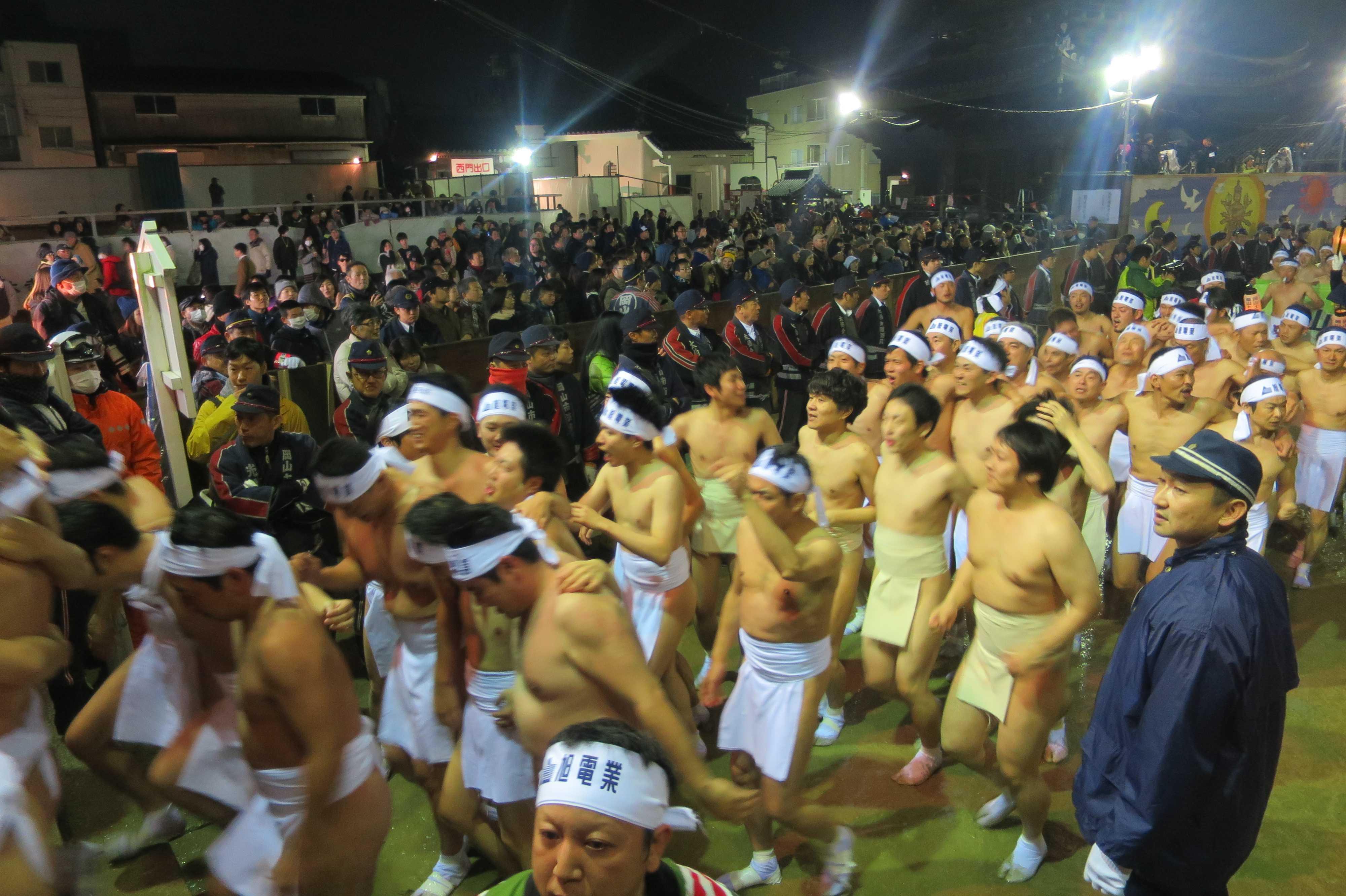 日本三大奇祭 - 西大寺会陽