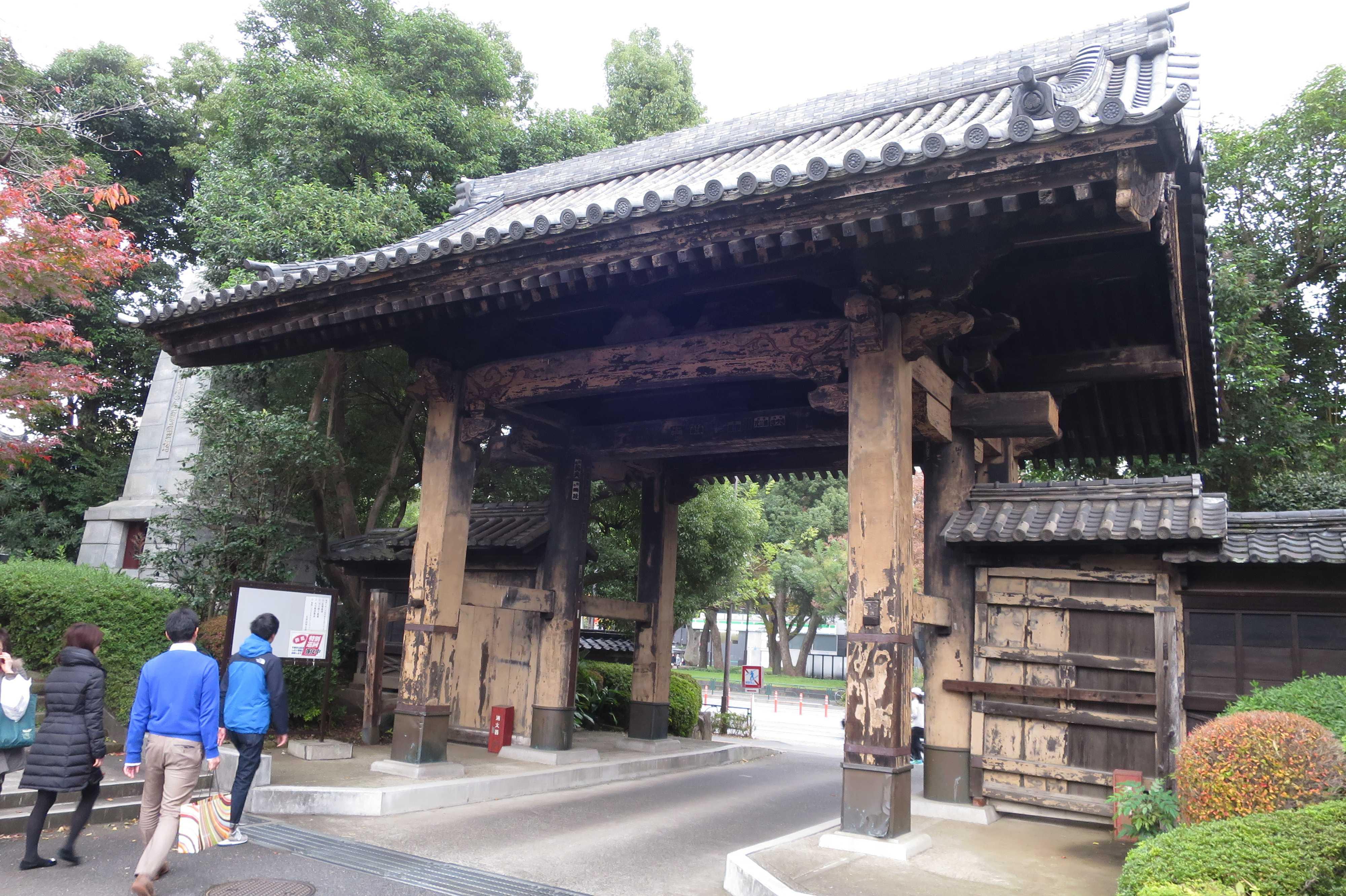 増上寺 黒門(旧方丈門)