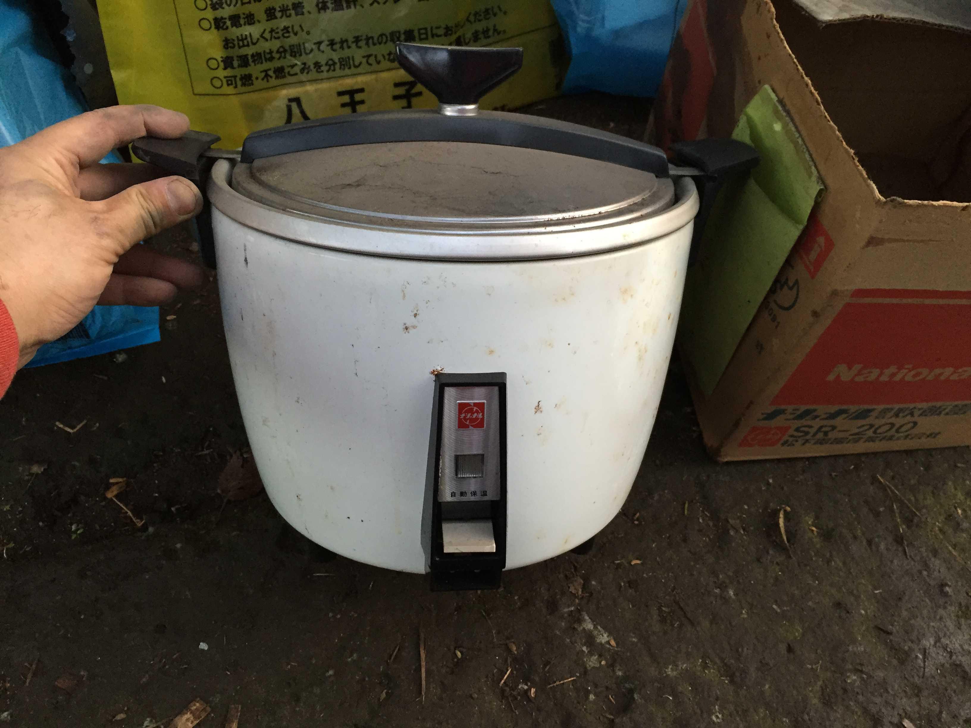 ナショナルの電気炊飯器