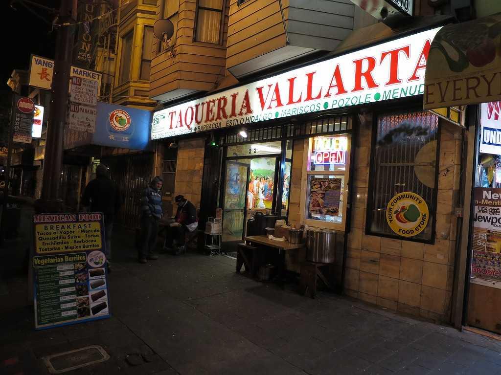 サンフランシスコ - TAQUERIA VALLARTA