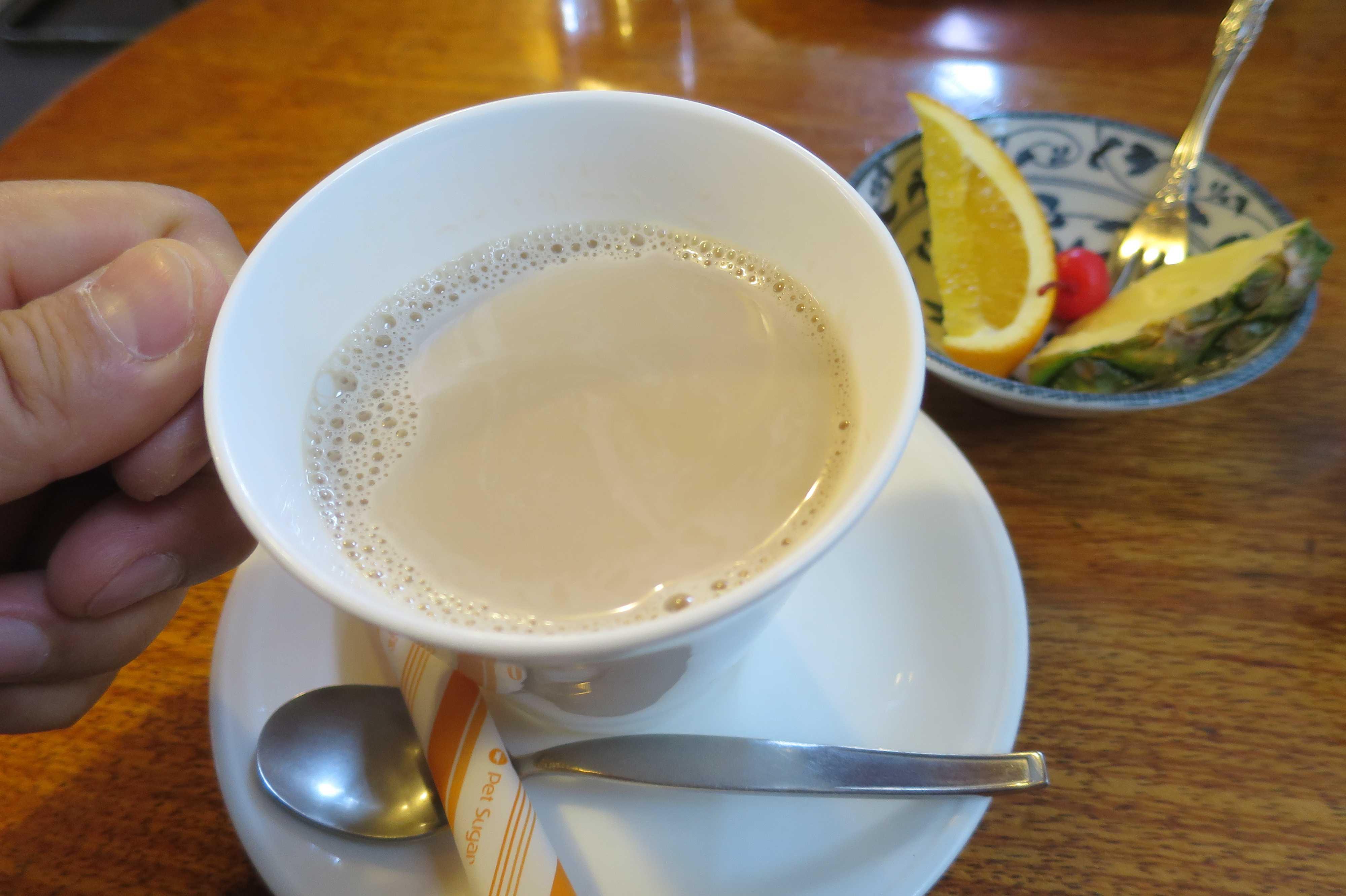 丸亀 -「Fuji」さんのモーニングミルクコーヒー