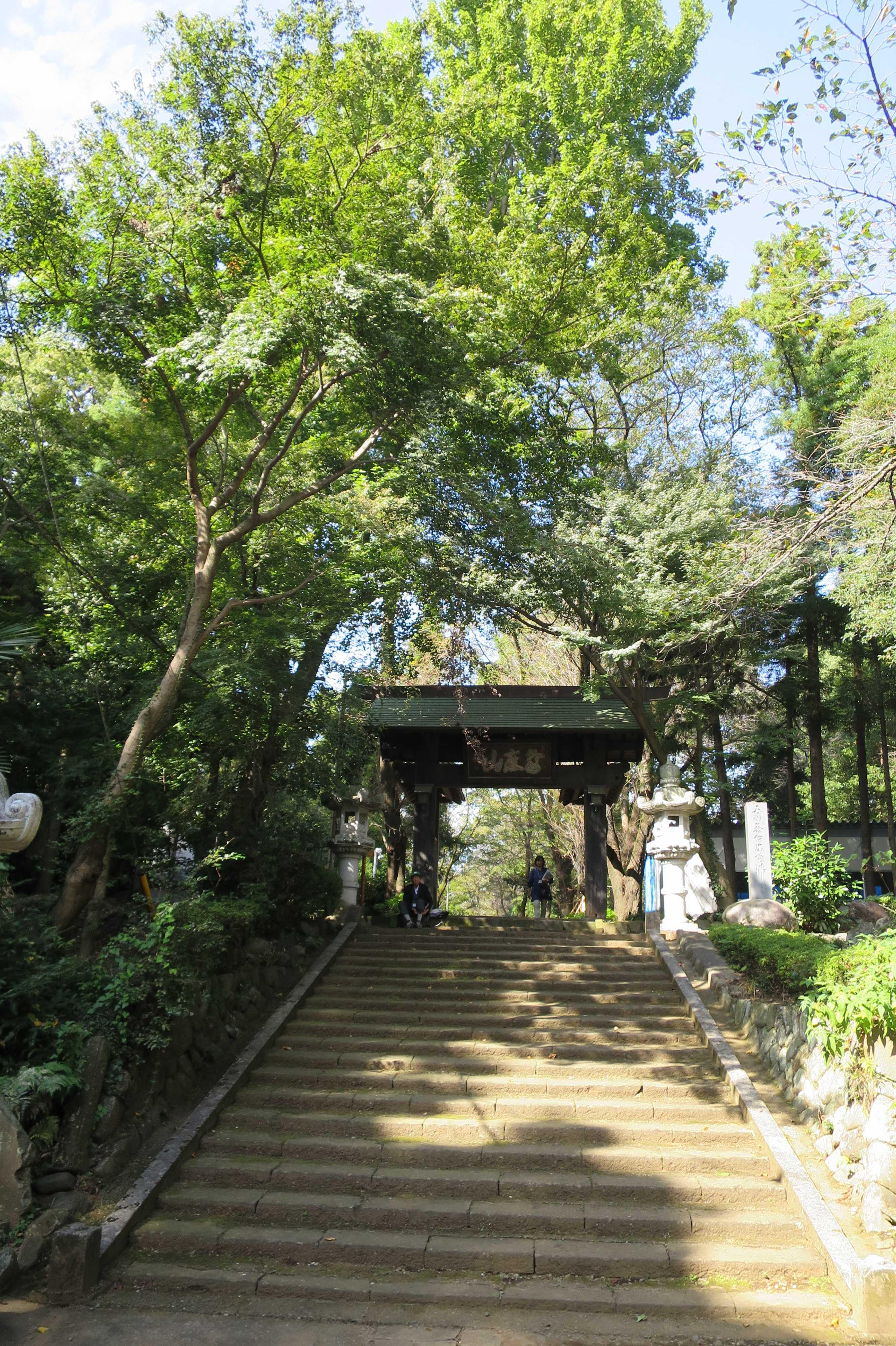 無量光寺 - 高麗門の山門