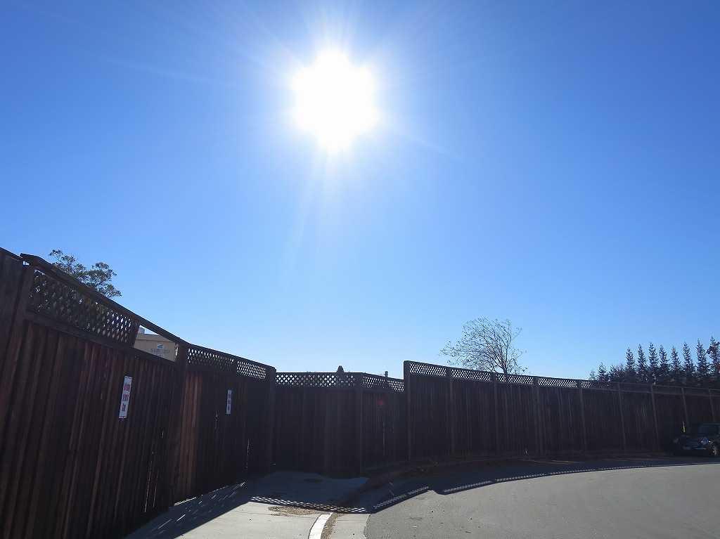 サンノゼの太陽