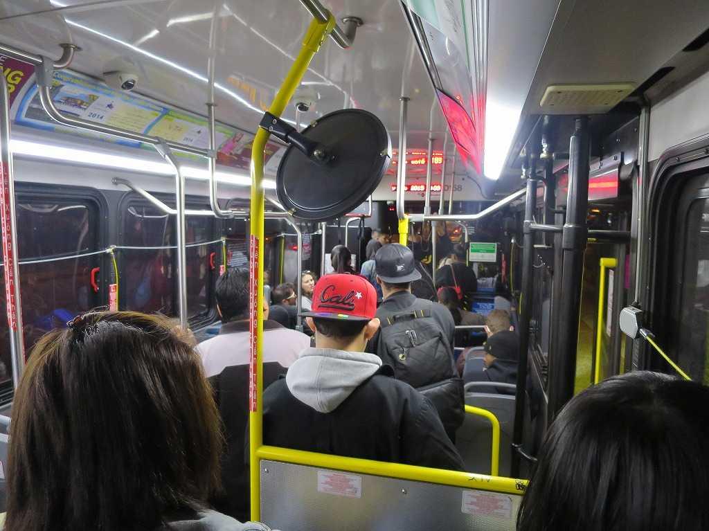 サンノゼ - バスの中