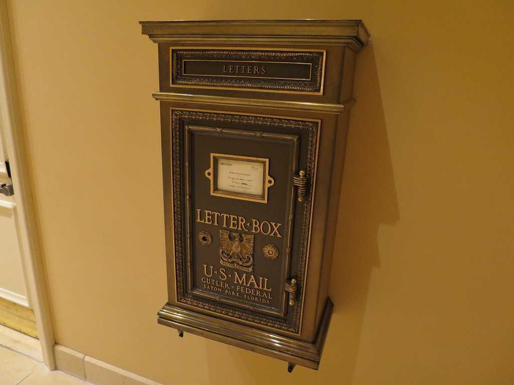 レターボックス(LETTER-BOX) U・S・MAIL
