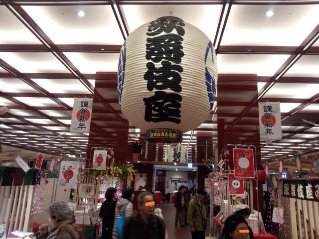 歌舞伎座の大提灯