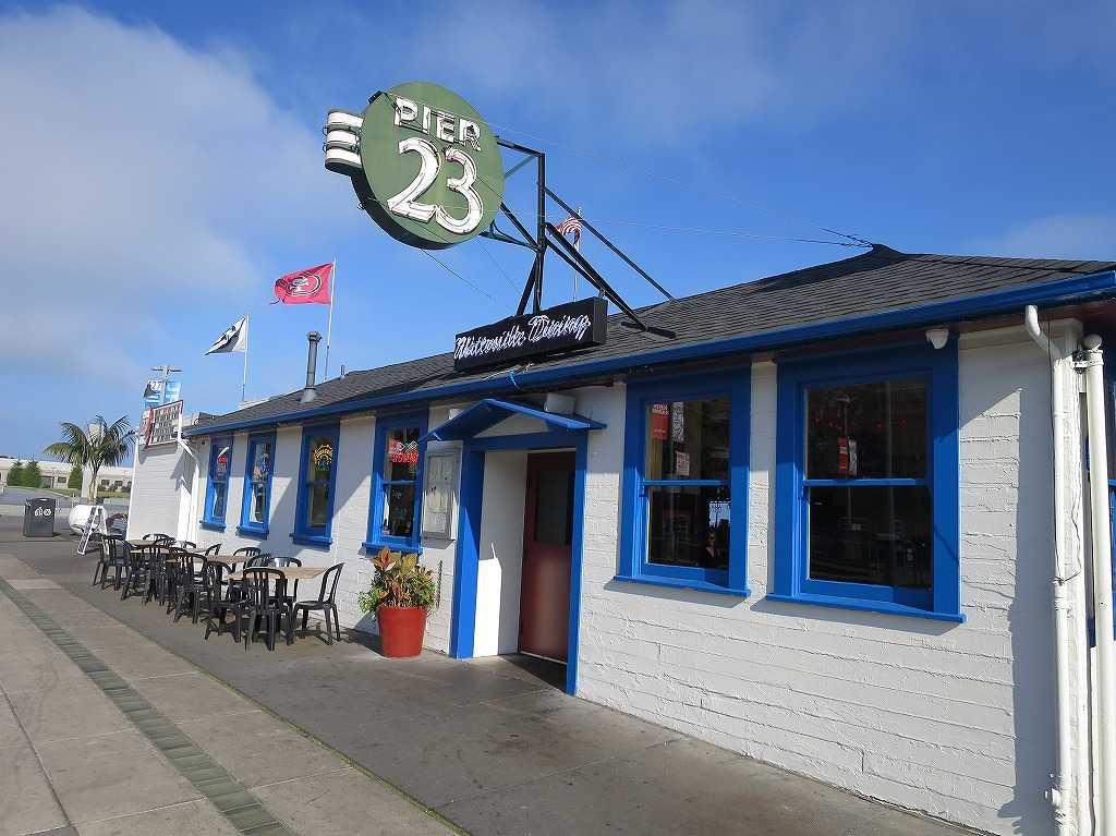 シーフードレストラン「Pier 23 Cafe」