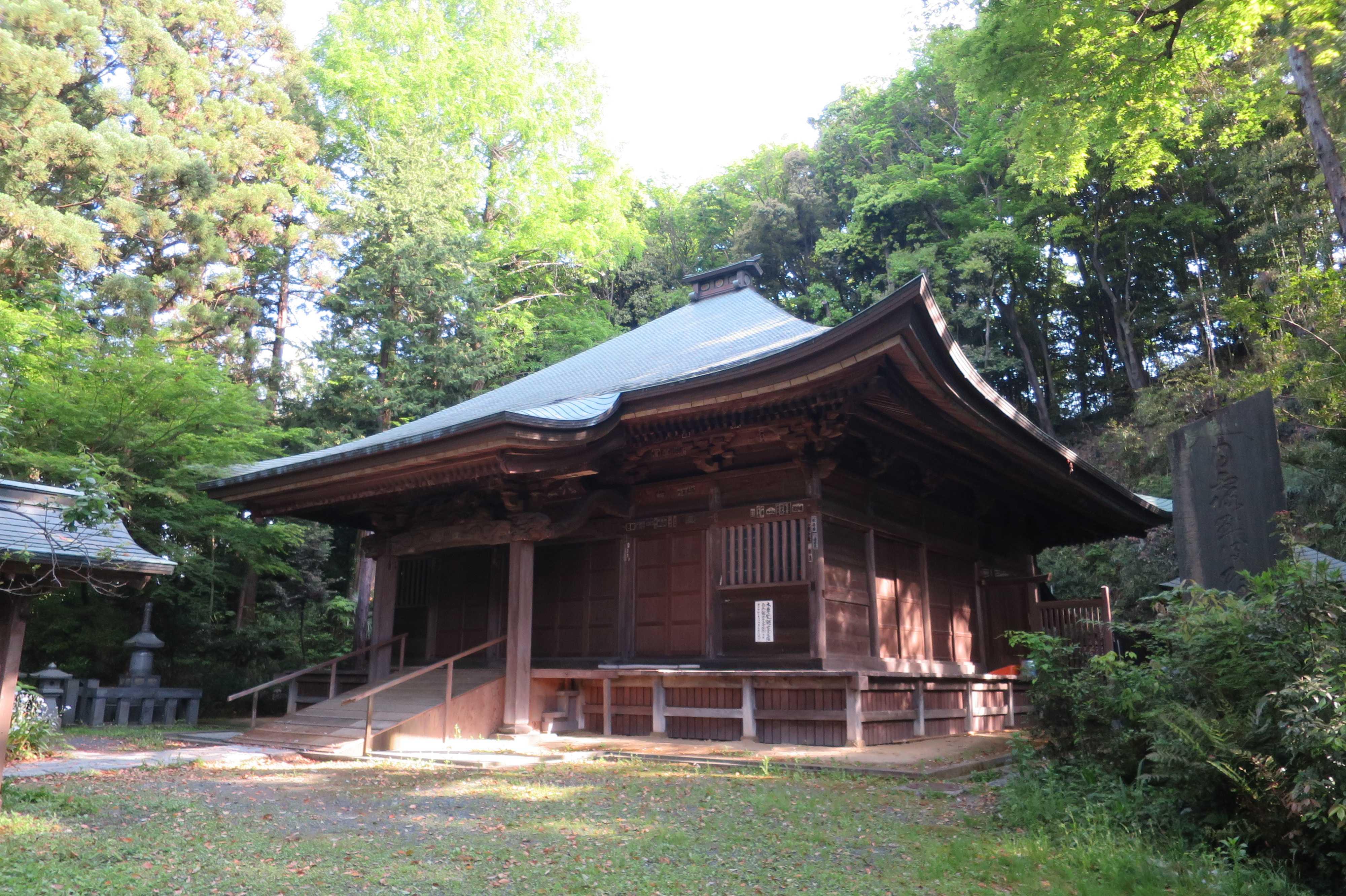 王禅寺の観音堂