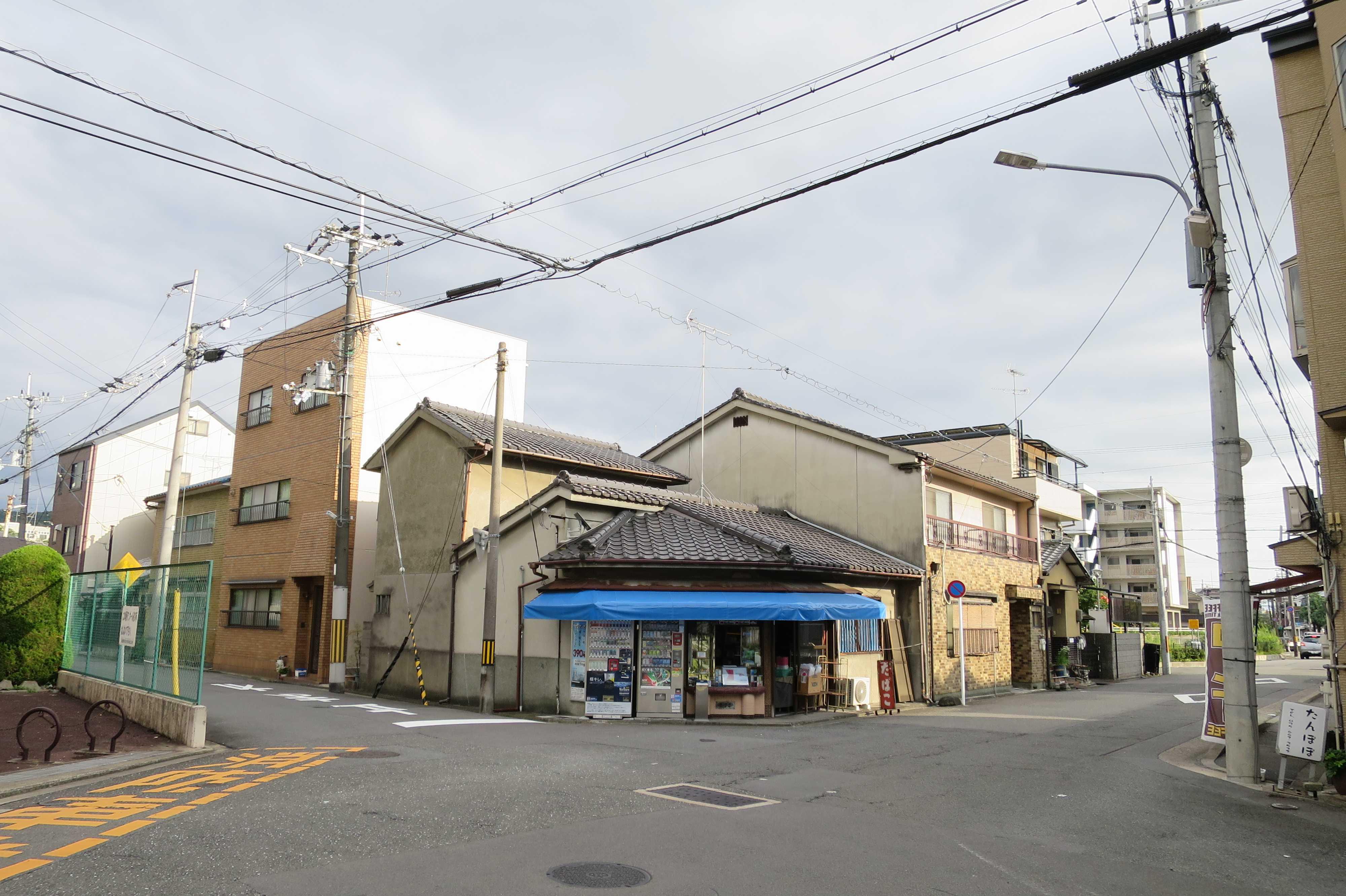 京都・崇仁地区 - ひっそりと営業していた崇仁地区の商店