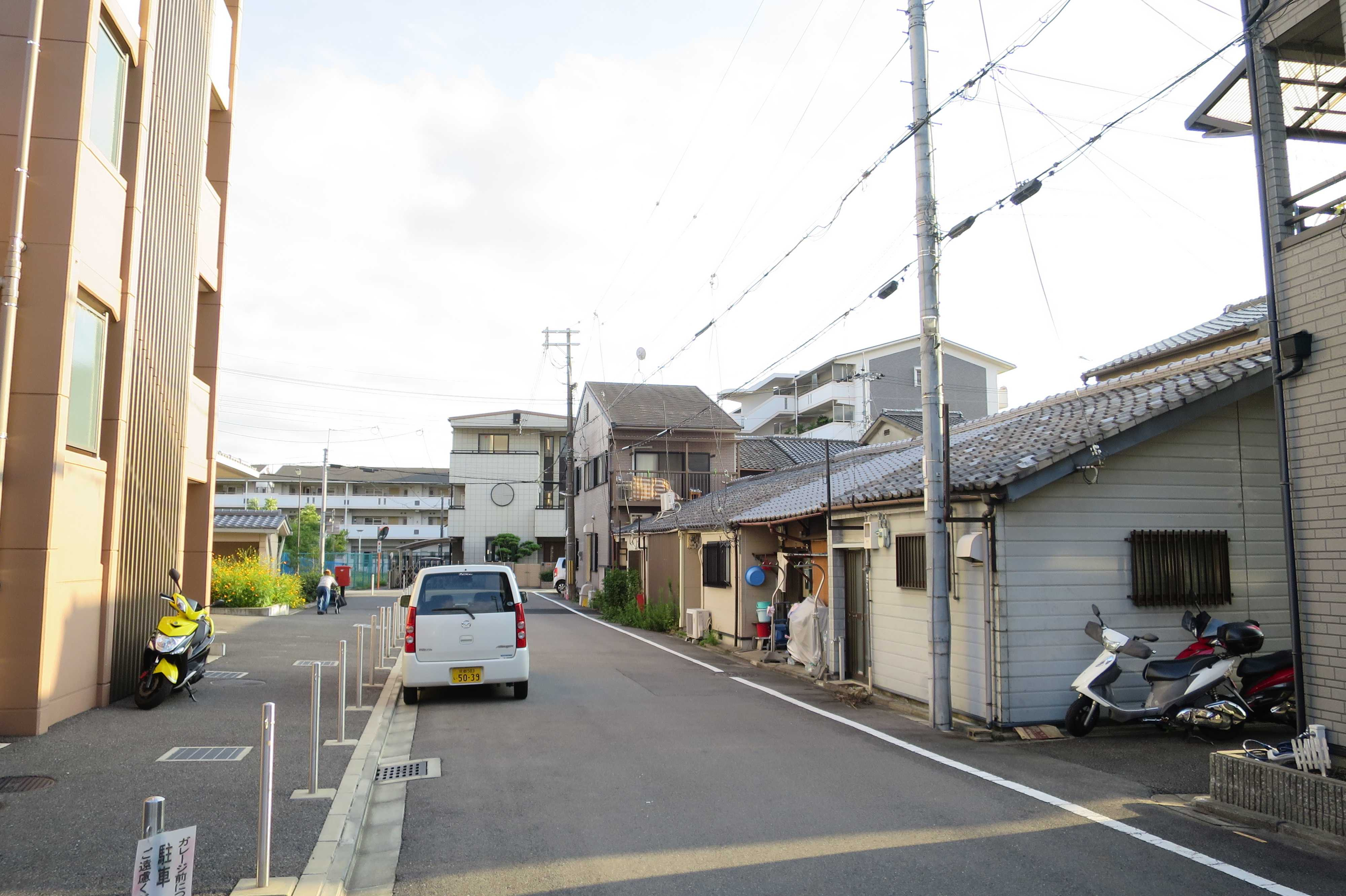京都・崇仁地区 - 街並み