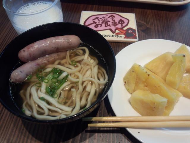 ホテルの朝食 - 沖縄そば
