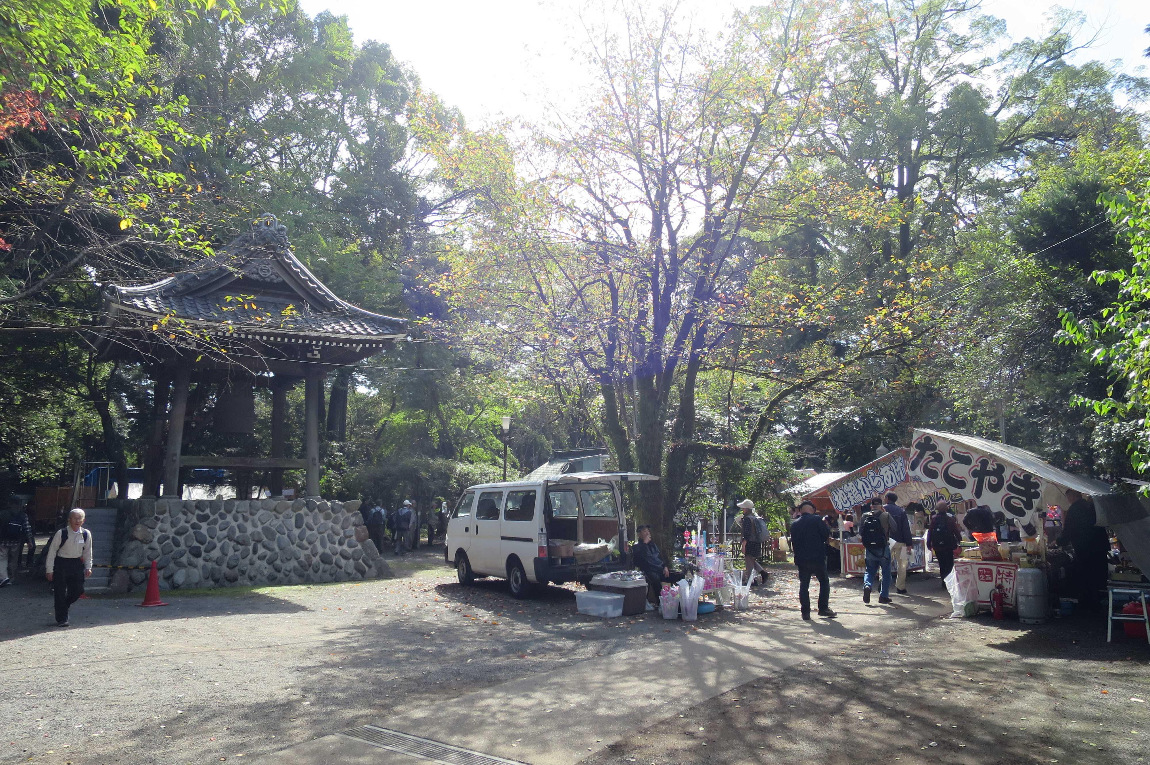 無量光寺 - 縁日の屋台