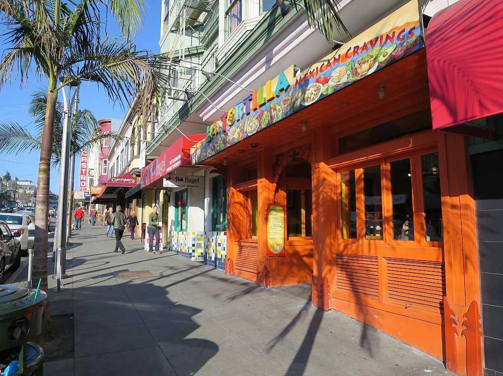 華やかなカストロの街並み - サンフランシスコ