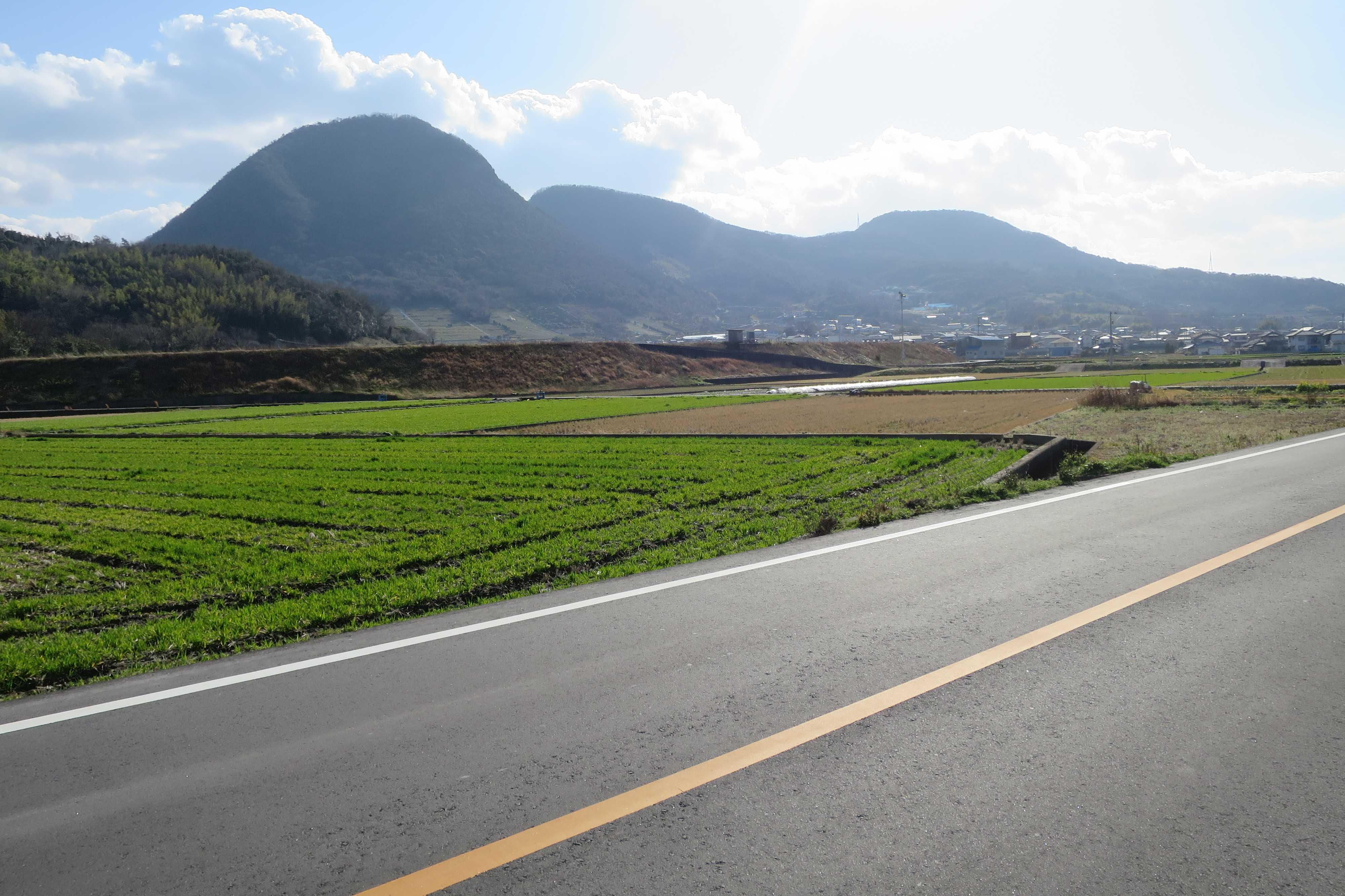 うつくしい讃岐の風景 - 五岳山(ごがくさん)