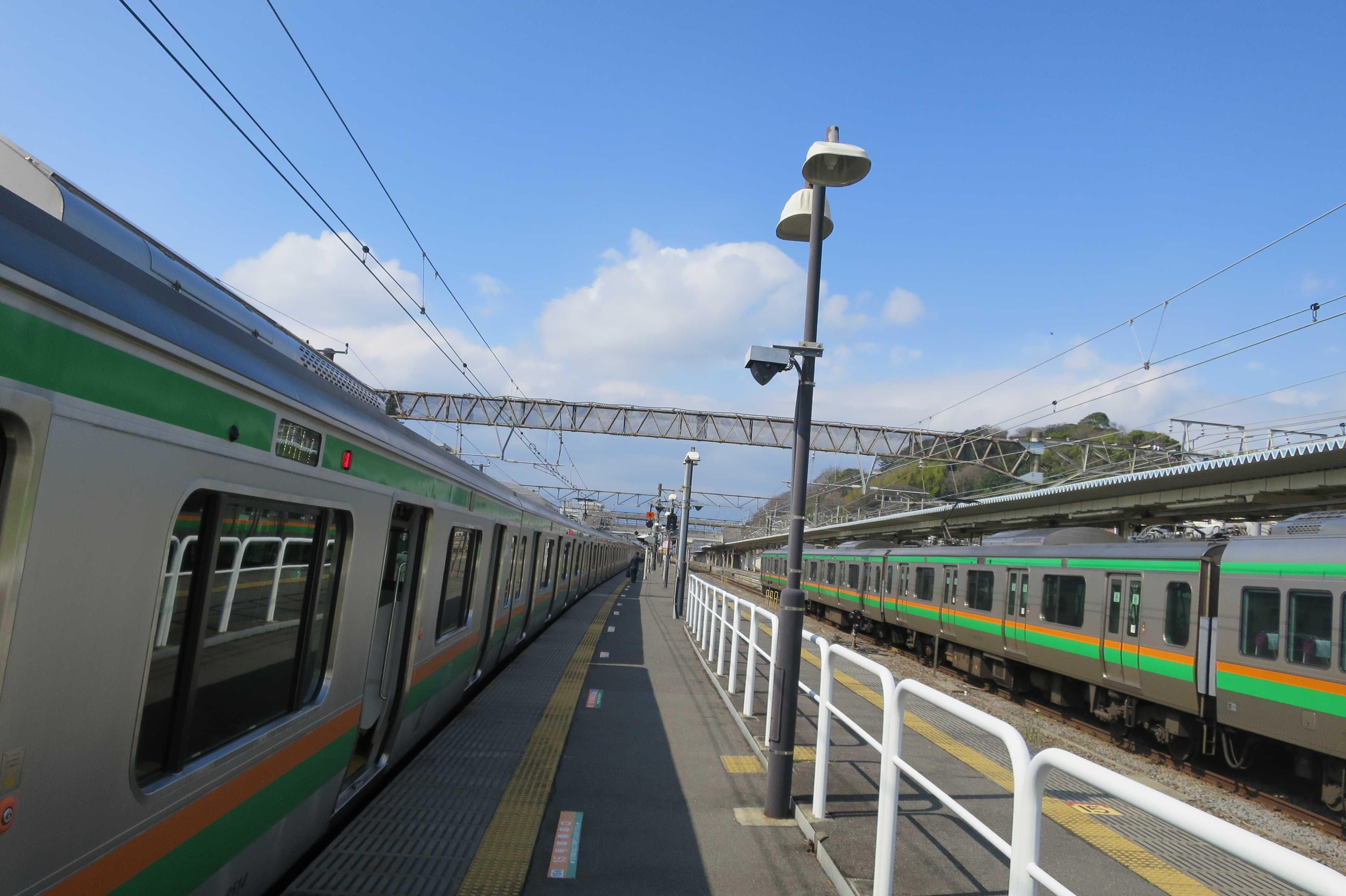 東海道線 - 停車時間