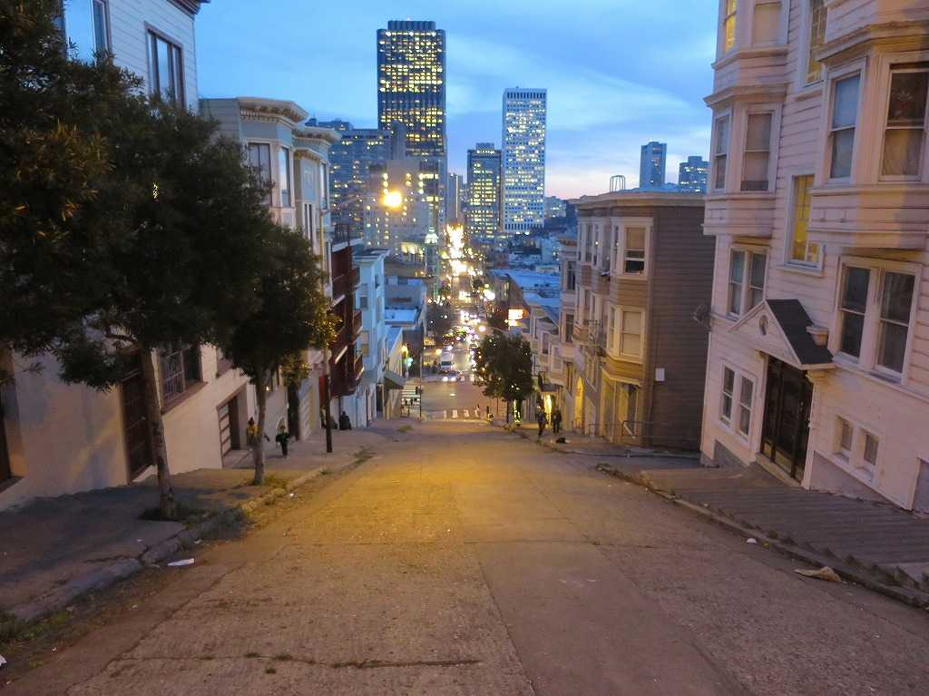 トワイライト!薄明かりのサンフランシスコ