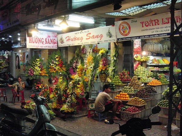 ベトナム・ホーチミン「ベンタイン市場」