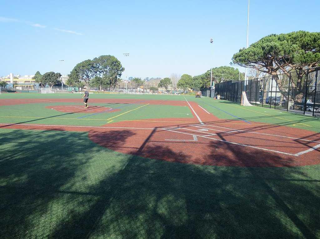 サンフランシスコ - 草野球のグラウンド