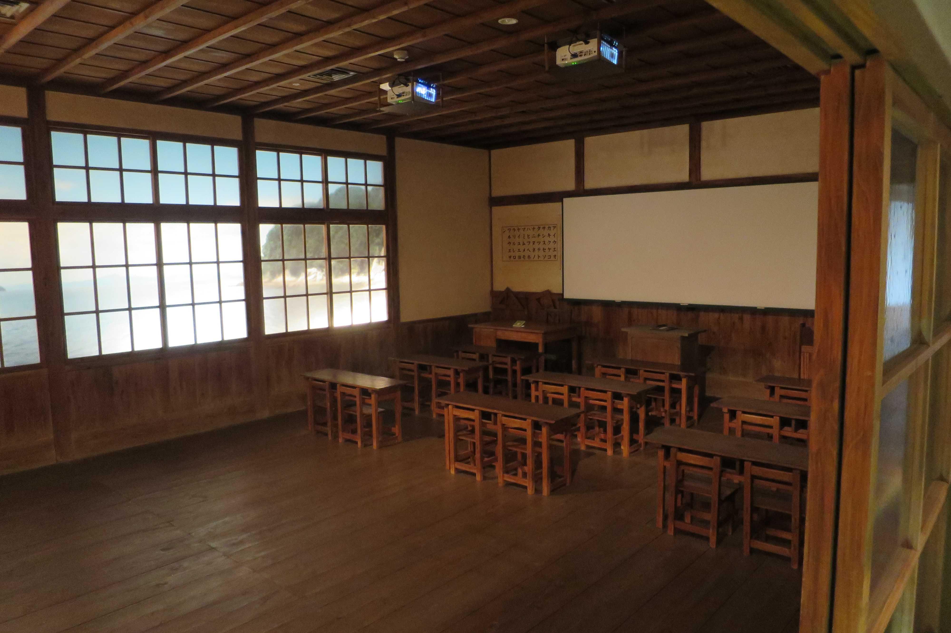 二十四の瞳!昭和初期の教室