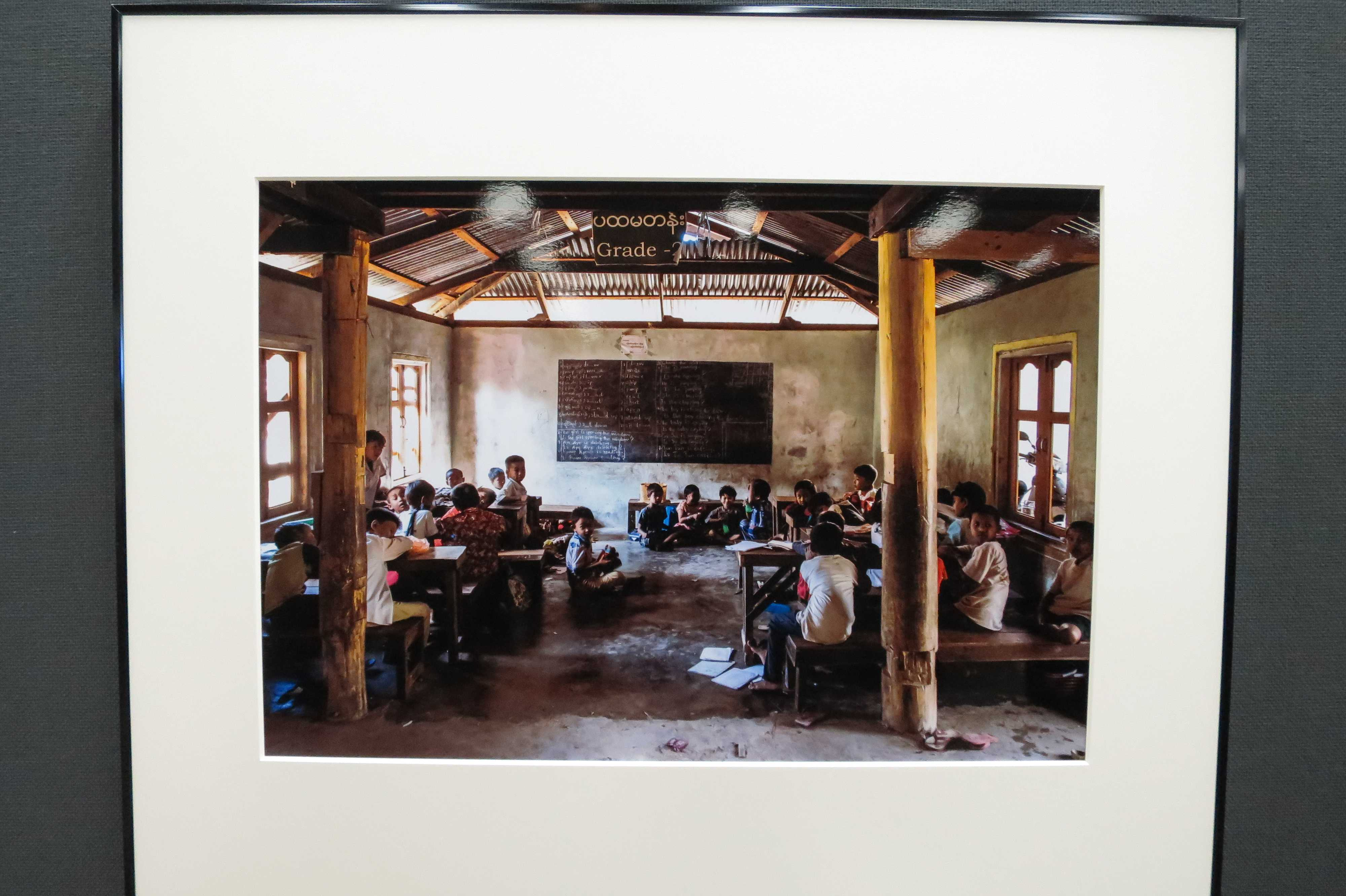 教室 - 日本・ミャンマー交流写真展