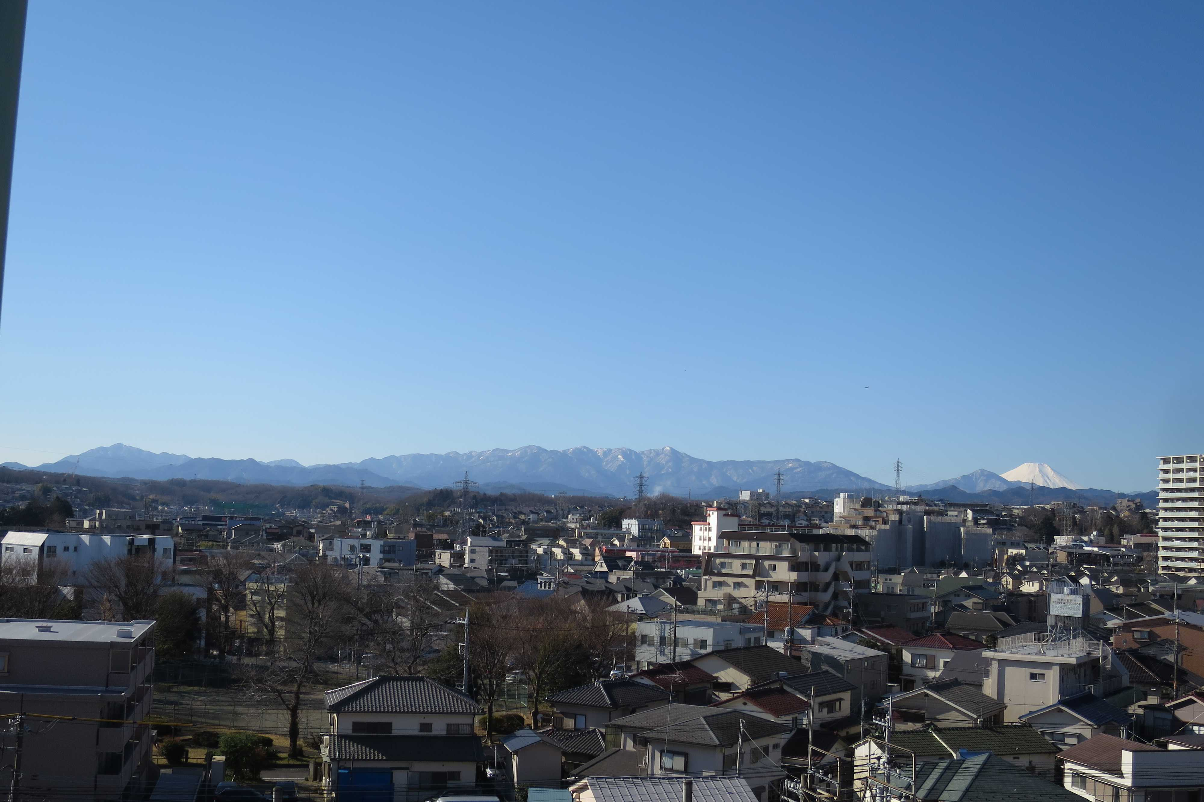 丹沢山地(丹沢山系)と富士山が見られる絶景スポット