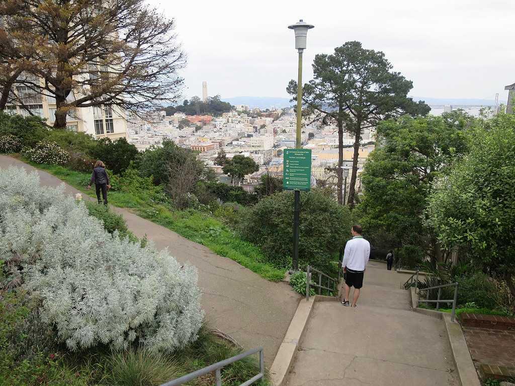 サンフランシスコ - 階段