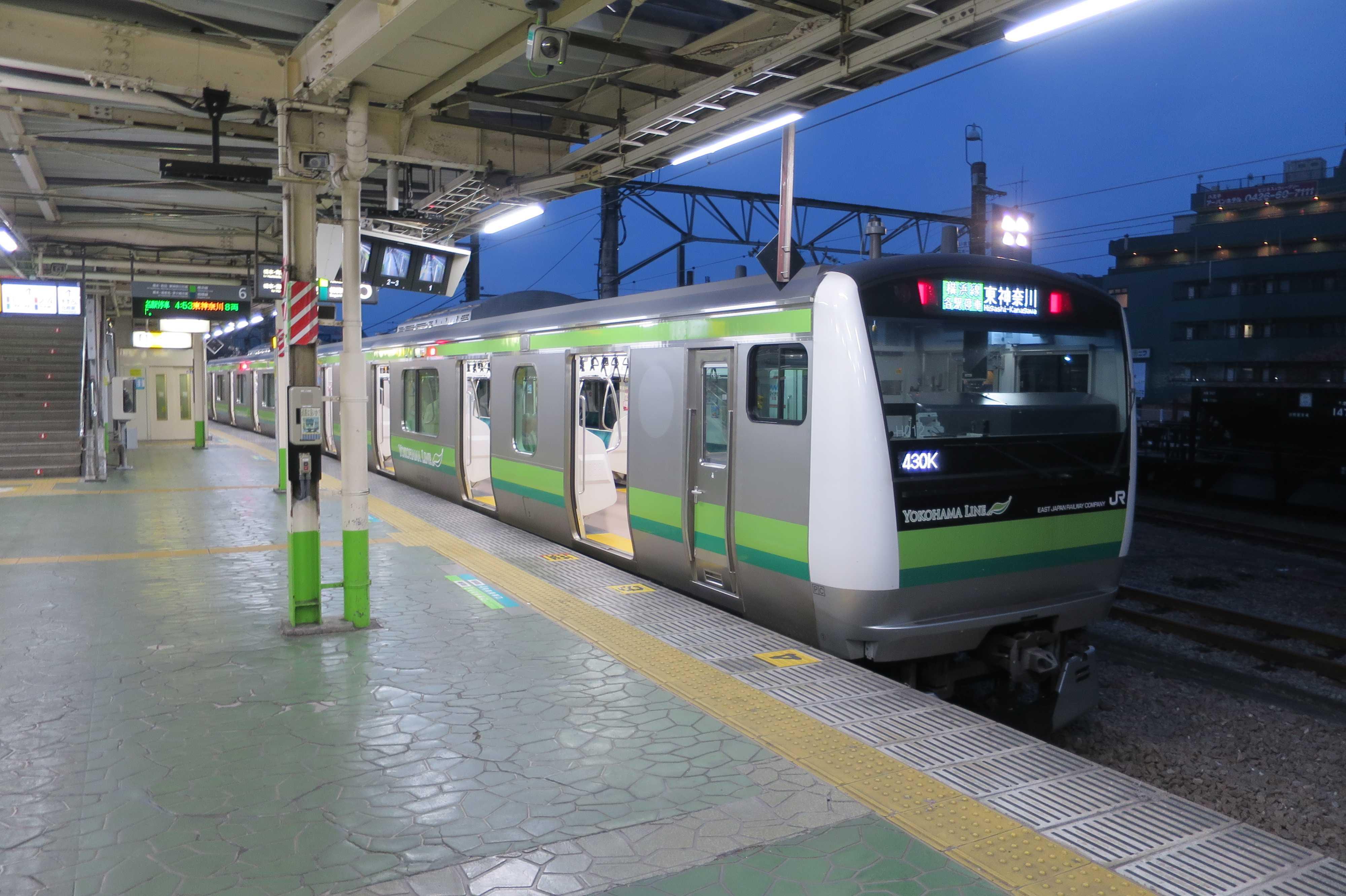 JR八王子駅 4時53分発 横浜線