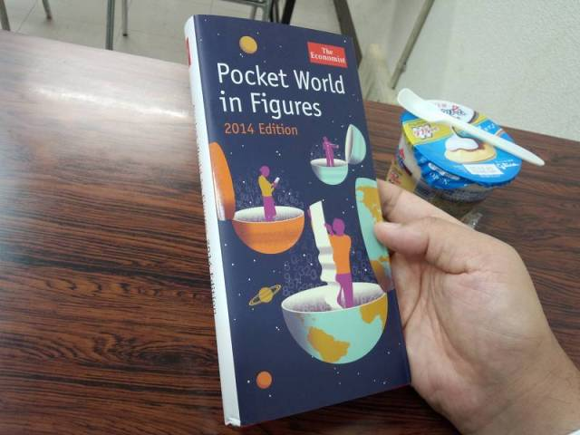 The Economist  「Pocket World in Figures 2014 Edition」