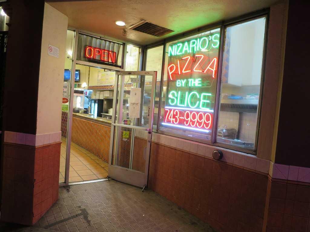 サンフランシスコ - NIZARIO'S PIZZA BY THE SLICE