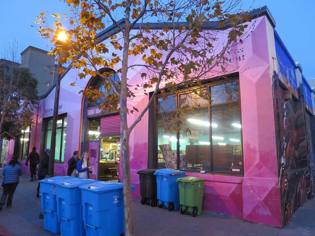 サンフランシスコ - ミッション地区のアートしている店