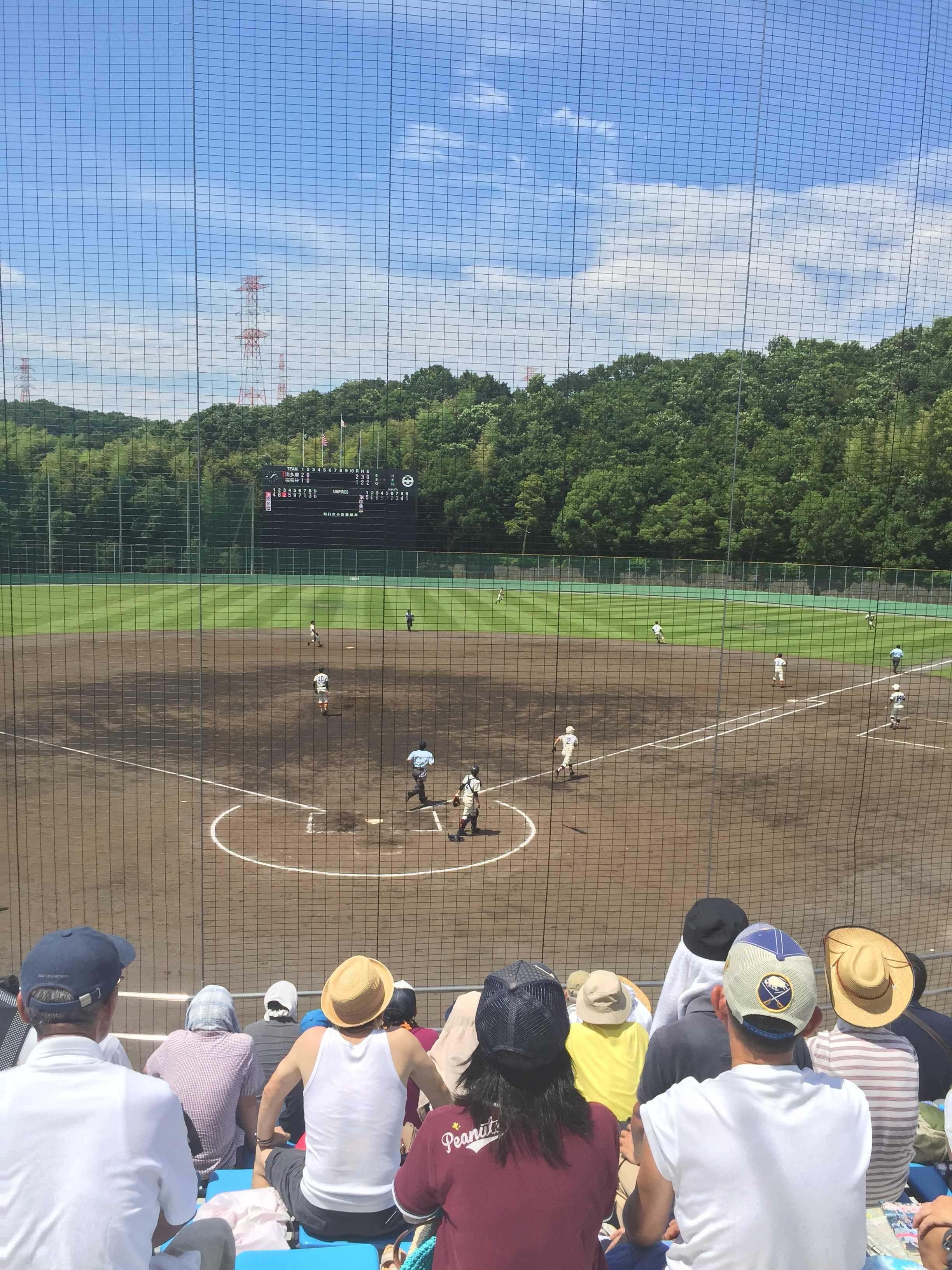 日本の夏。高校野球の夏。