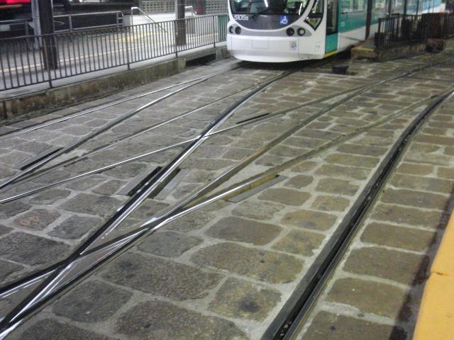広電の線路