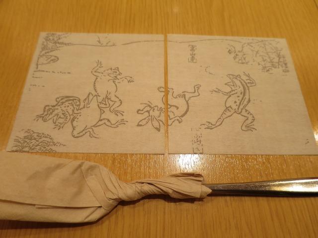 西尾 鳥獣戯画のコースター