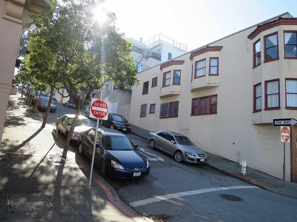 サンフランシスコ - クレージーな角度の坂