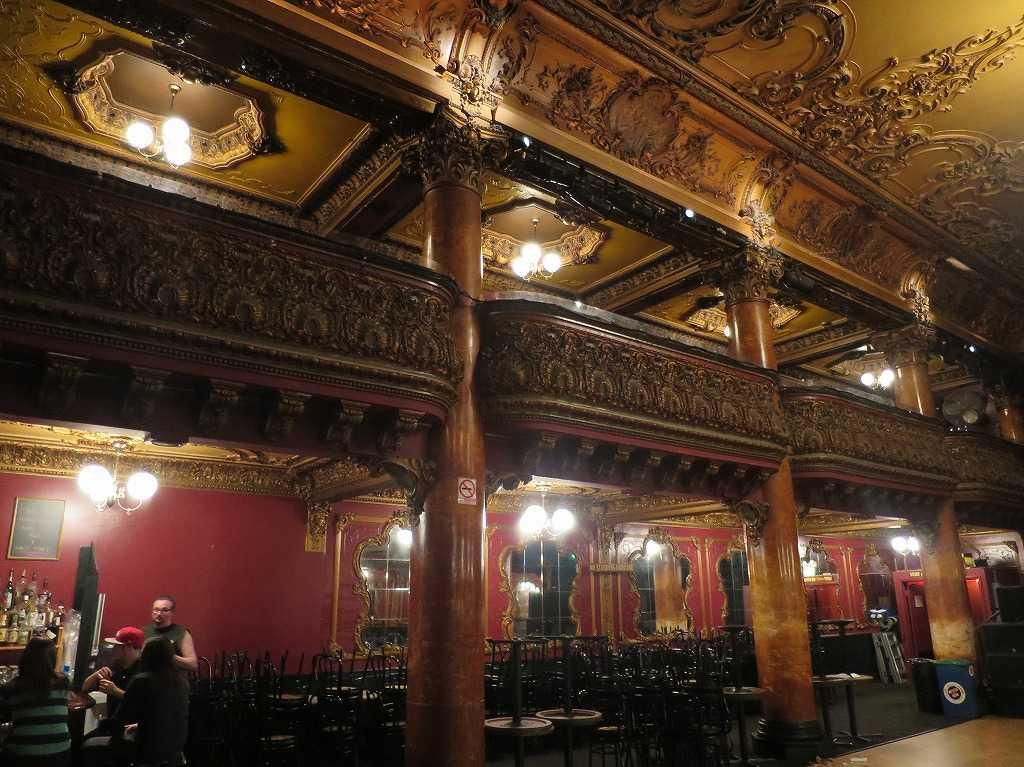 サンフランシスコ - グレート・アメリカン・ミュージックホールの内装