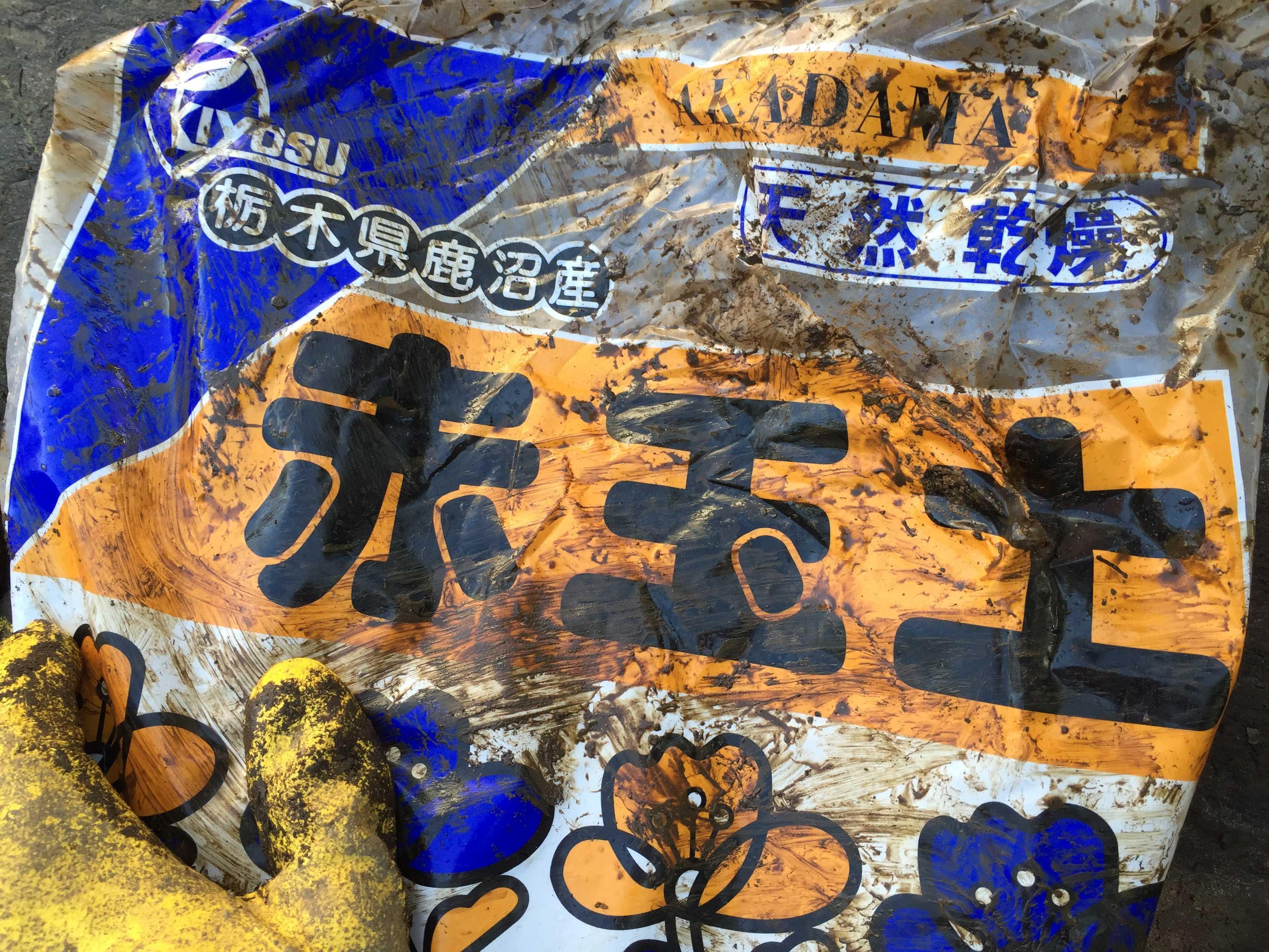 サルスベリ夏祭り(ペパーミントレース)用の赤玉土