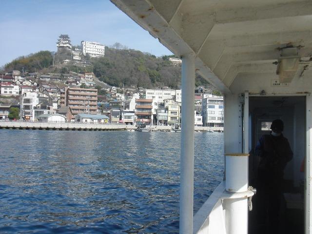 尾道・連絡船から尾道城