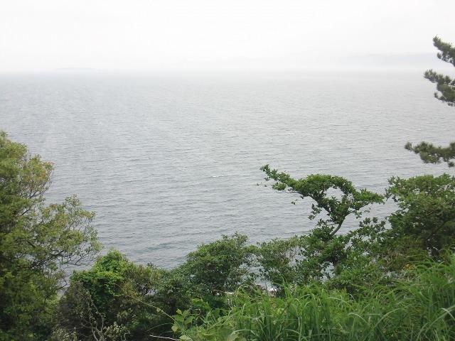 真鶴半島の大海原