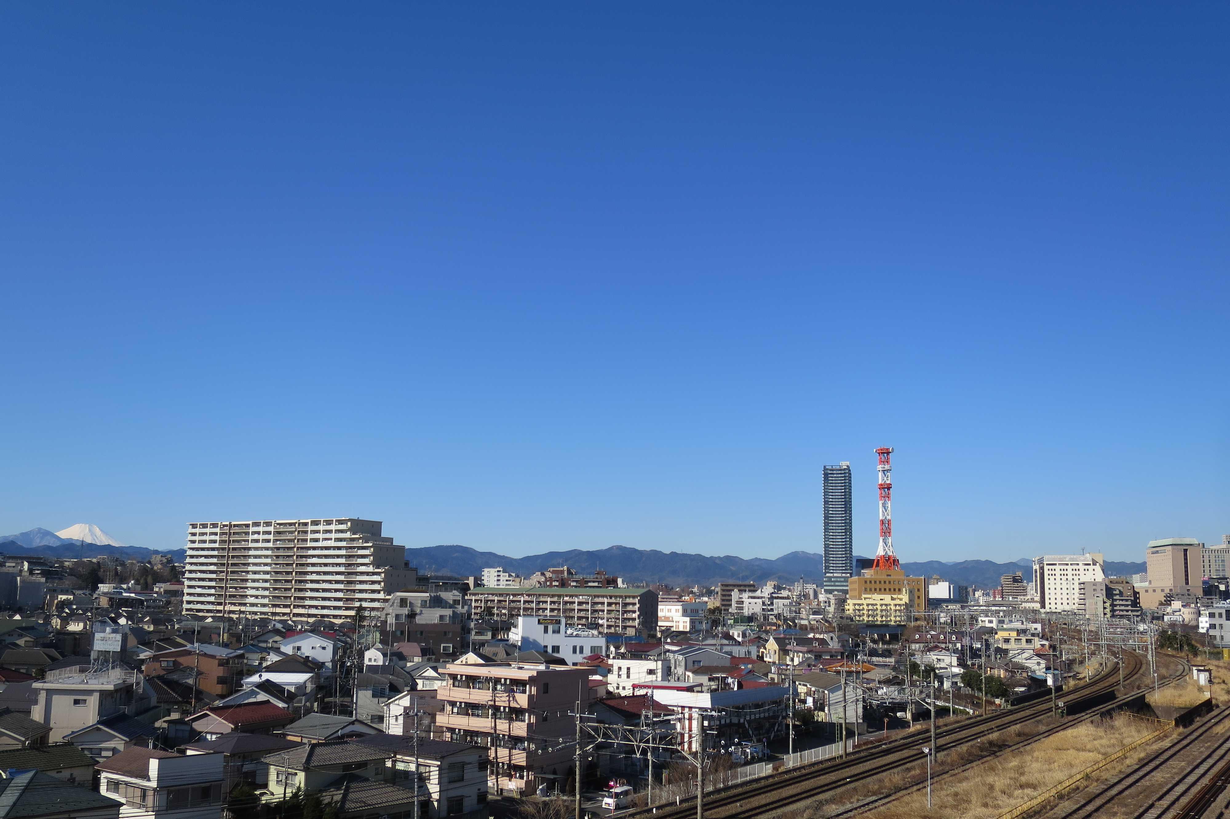 富士山が見えるところ -  八王子市ルームズ大正堂