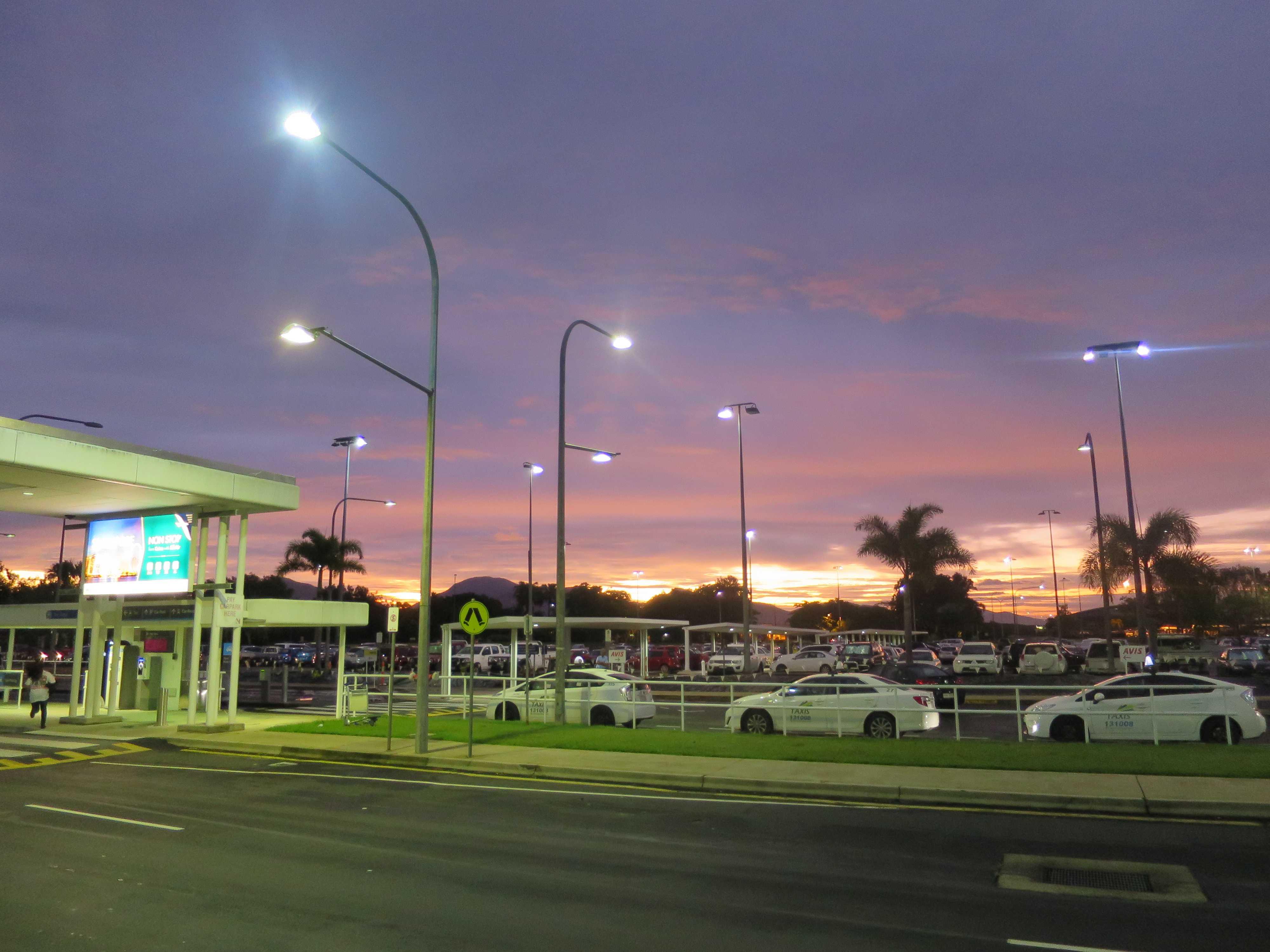 オーストラリア・ケアンズ国際空港