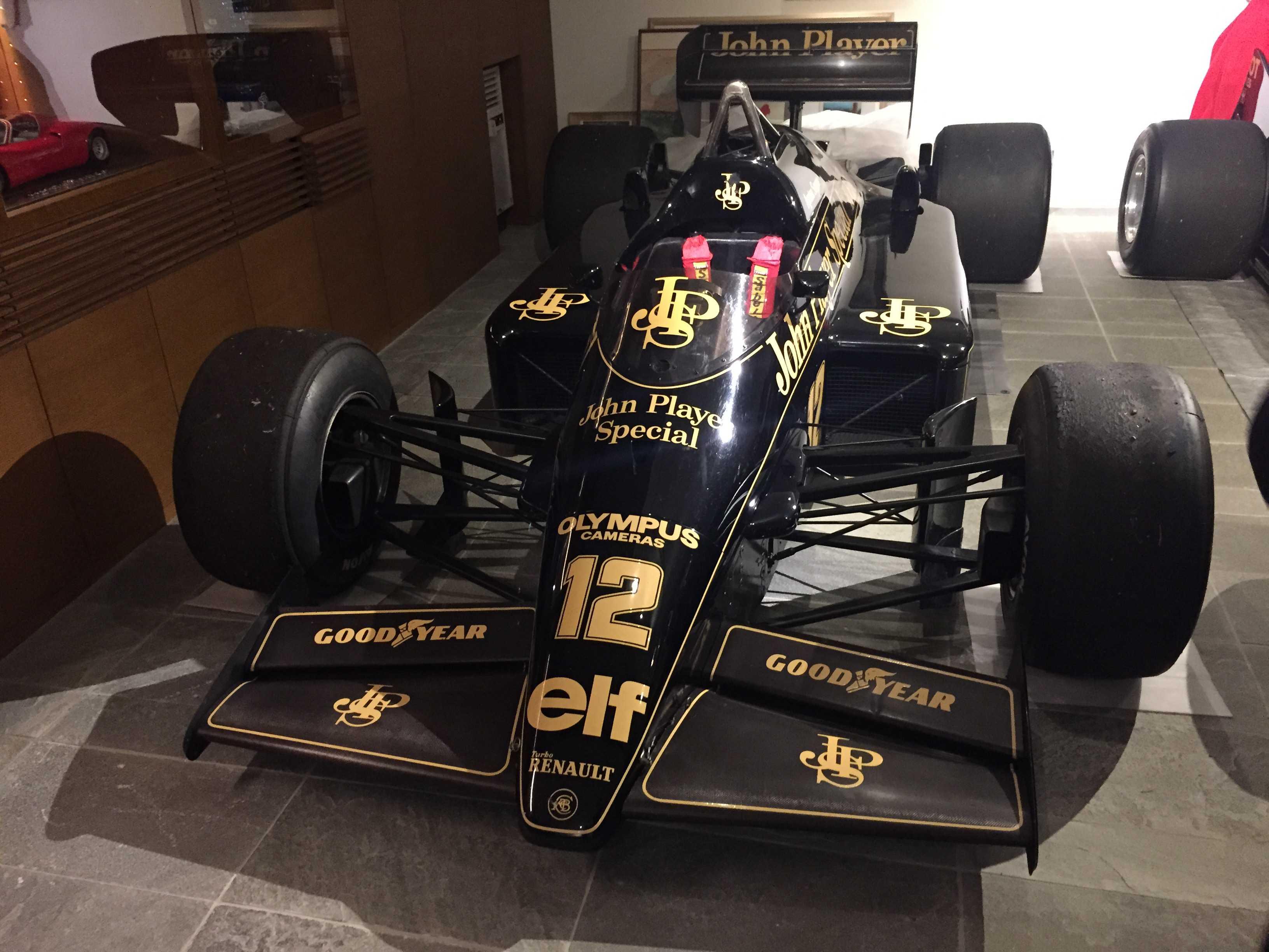 JPS(John Player Special/ジョン・プレイヤー・スペシャル )の F1カー/F1マシン