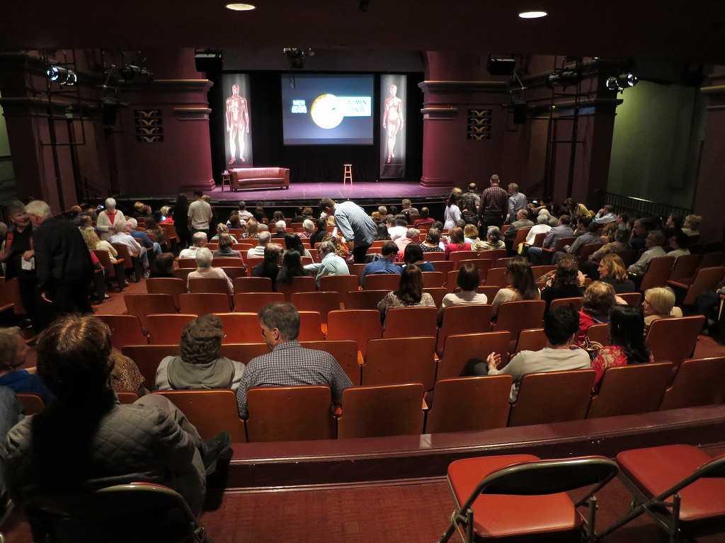 モンゴメリー・シアターの劇場内部