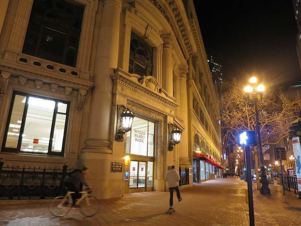 マーケットストリート - Wells Fargo Bank(ウェルズ・ファーゴ銀行)