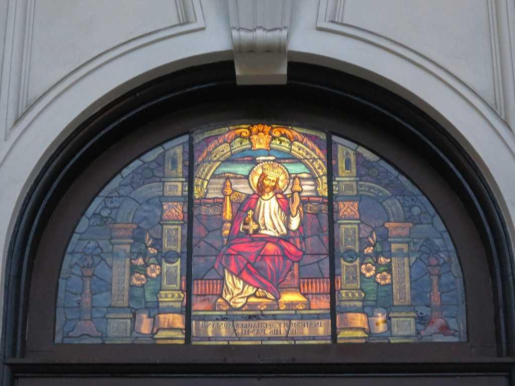 聖ジョセフ・バシリカ大聖堂のステンドグラス
