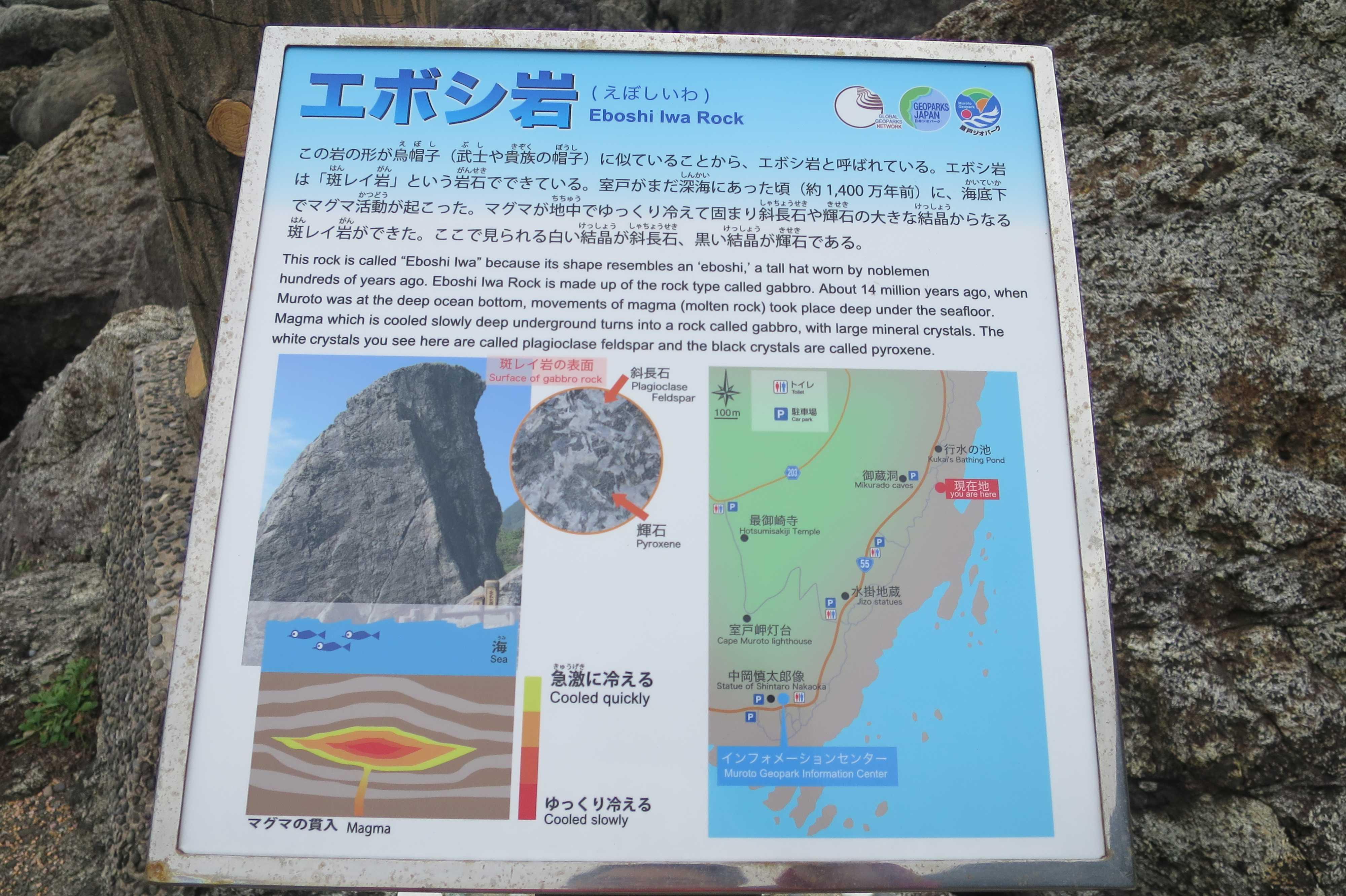エボシ岩 Eboshi Iwa Rock - 室戸岬 乱礁遊歩道