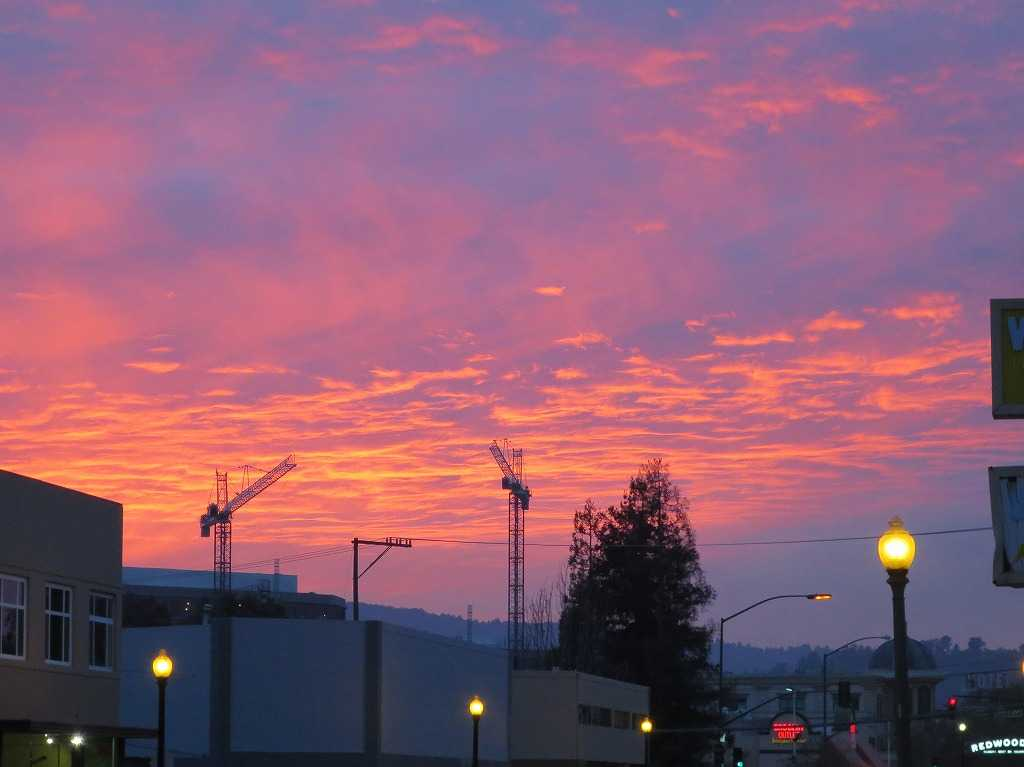 レッドウッドシティ - 夕日