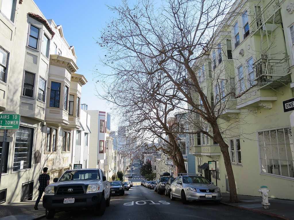 サンフランシスコ - テレグラフヒル