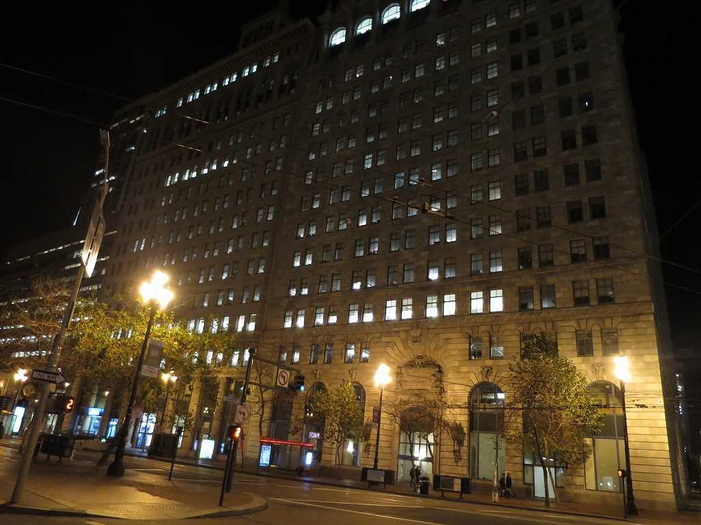 美しい夜のサンフランシスコの街